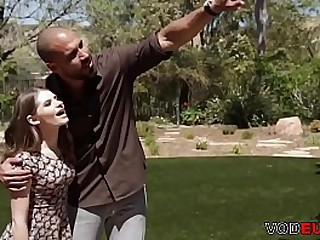 Stepmom and father sharing their step-daughter