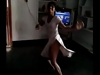 Indian teen girl dance in nude