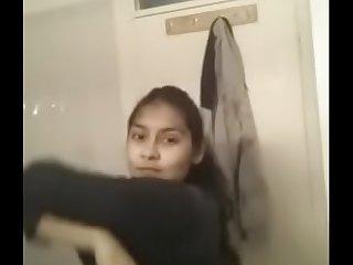 Desi teen relieve oneself selfie