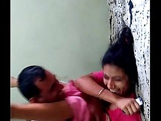 Indian Aunty having fun with Uncle