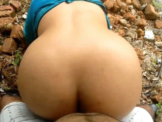 Desi Devar bhabhi outdoor sex. Hindi talk. Doggystyle
