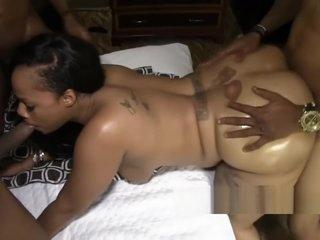 X mexican n black pussy banged wide of prudish paki